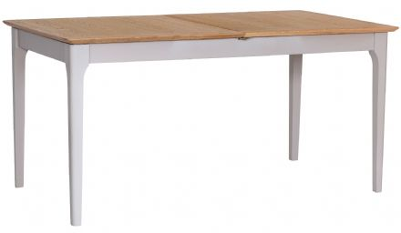 Newhaven Grey Painted 2m Butterfly Extending Table